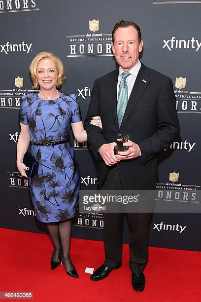 Seattle Seahawks President Peter McLoughlin attends the 3rd Annual NFL Honors at Radio City Music Hall on February 1 2014 in New York City