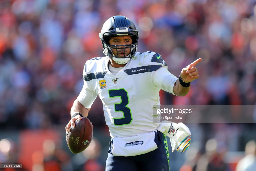 NFL: OCT 13 Seahawks at Browns : News Photo