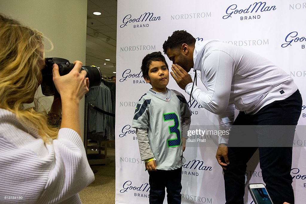 41f081e70b5 Russell Wilson Launches Good Man Brand At Nordstrom   News Photo