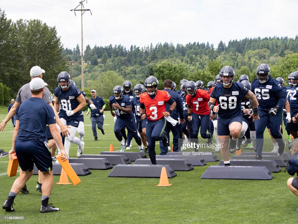 NFL: JUN 06 Seattle Seahawks OTA : News Photo