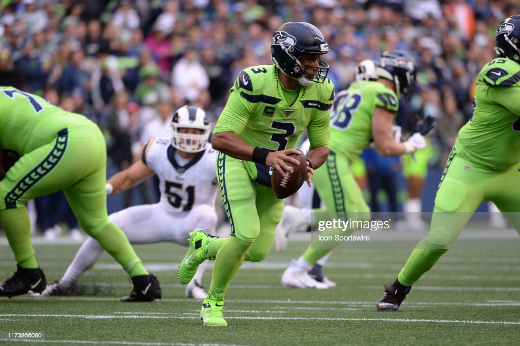 NFL: OCT 03 Rams at Seahawks : News Photo