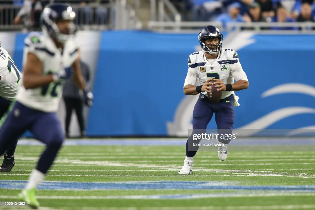 NFL: OCT 28 Seahawks at Lions : News Photo