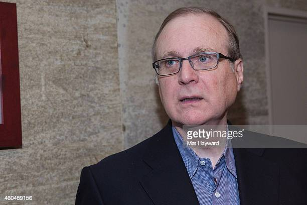 Seattle Seahawks team owner philanthropist investor innovator and Microsoft cofounder Paul Allen attends the FAM 1st FAMILY FOUNDATION Charity Event...