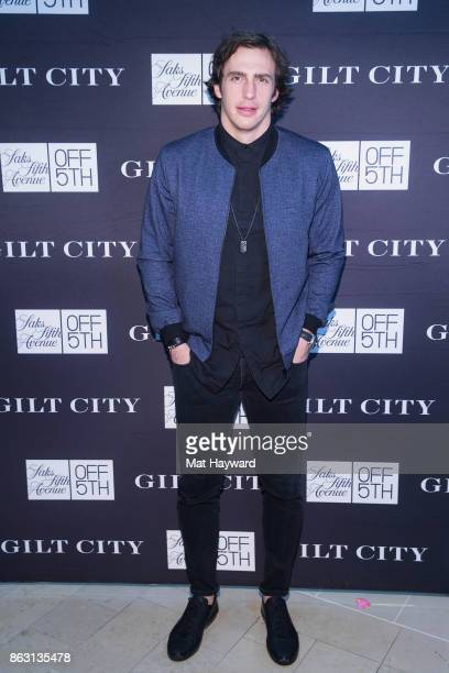 Seattle Seahawks Tight End Luke Willson attends the Saks OFF 5th Seattle VIP Grand Opening Party on October 18 2017 in Seattle Washington