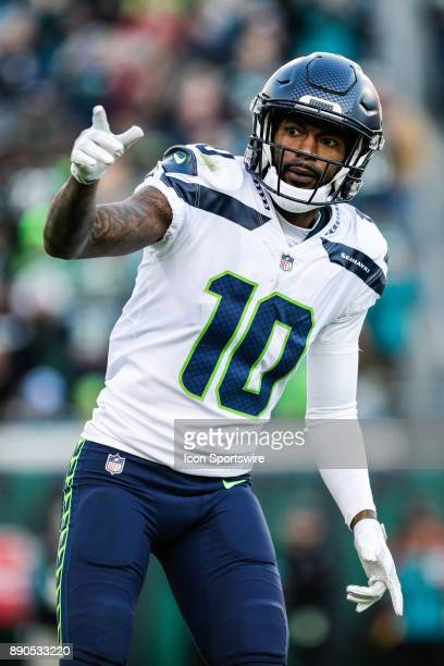 Seattle Seahawks wide receiver Paul Richardson lines up for a play during the game between the Seattle Seahawks and the Jacksonville Jaguars on...