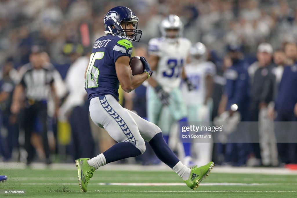 NFL: JAN 05 NFC Wild Card - Seahawks at Cowboys : News Photo
