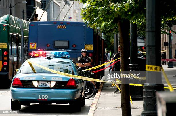 seattle shooting - shooting crime stock pictures, royalty-free photos & images