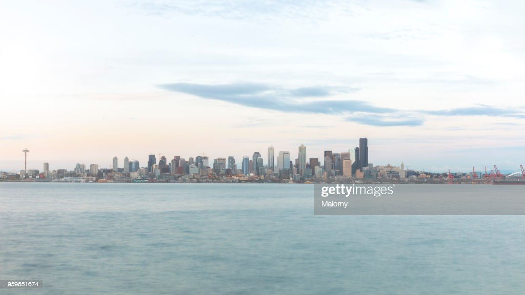 Seattle Skyline, USA, Washington, Seattle : Stock-Foto