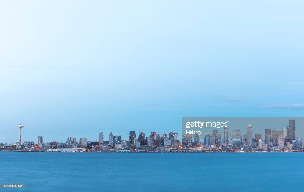 Seattle Skyline, USA, Washington, Seattle : Foto de stock