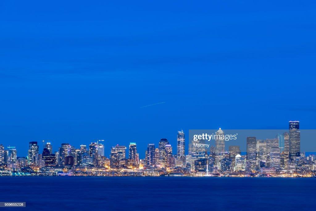 Seattle Skyline, USA, Washington, Seattle : Stock Photo