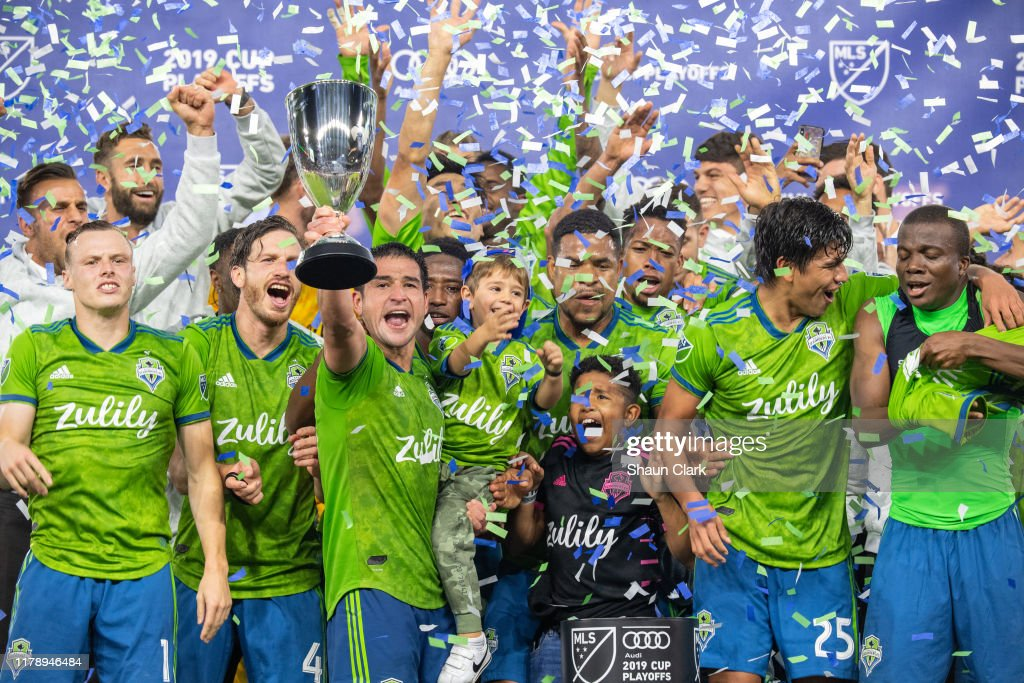 Seattle Sounders v Los Angeles FC - Western Conference Final : News Photo