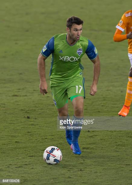 Seattle Sounders defender Will Bruin made his team debut during the MLS opening match between the Seattle Sounders and Houston Dynamo on March 4 2017...
