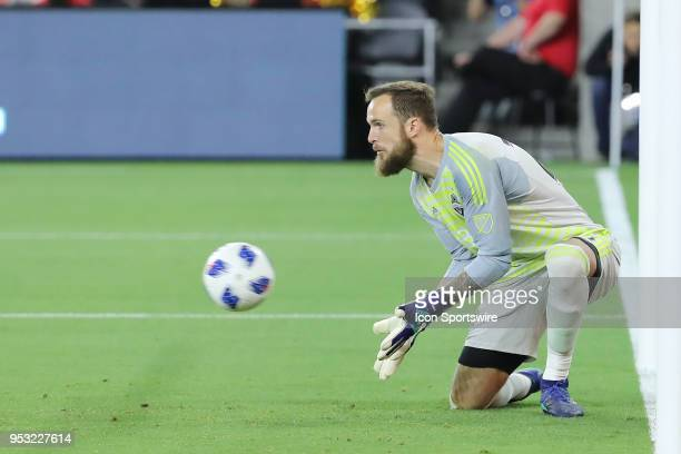 Seattle Sounders goalkeeper Stefan Frei appears to make an easy save in extra time but somehow the ball gets past him as he takes his eyes off the...