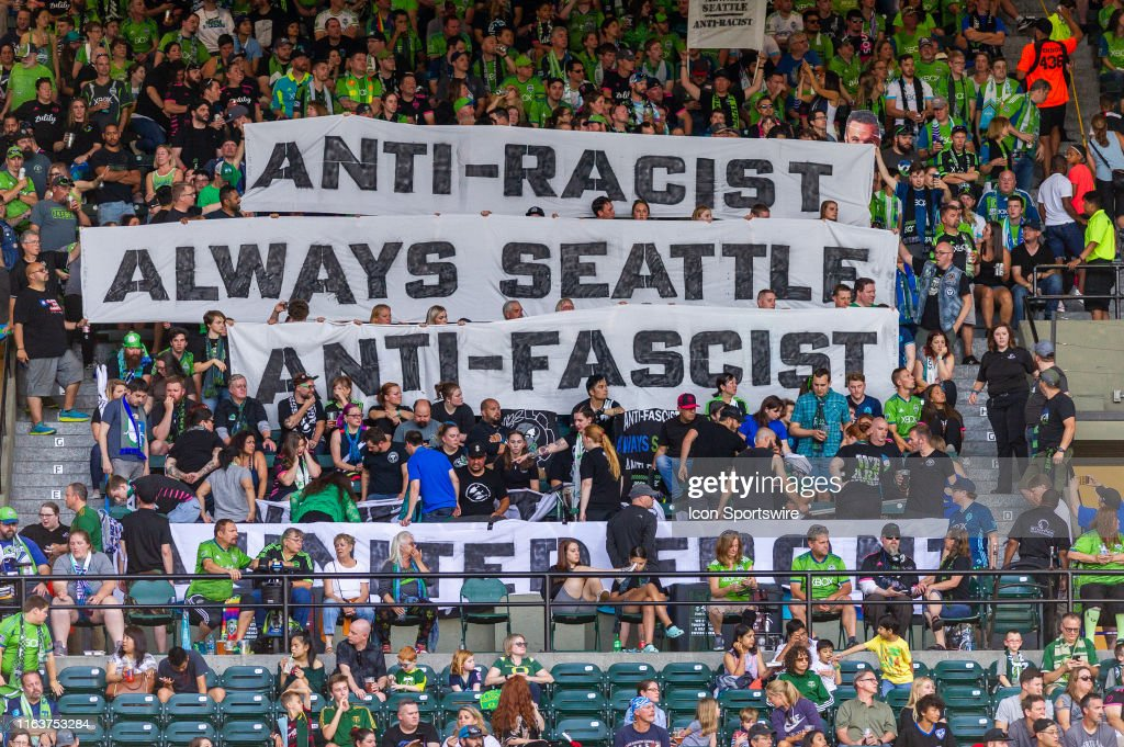 SOCCER: AUG 23 MLS - Seattle Sounders FC at Portland Timbers : News Photo
