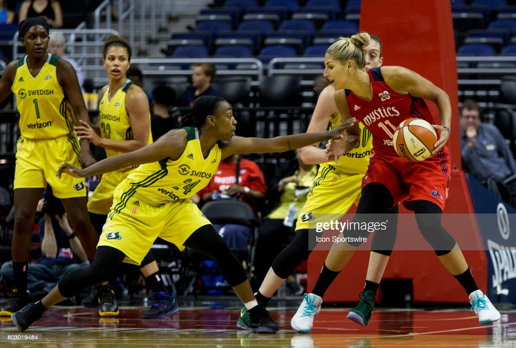 WNBA: JUN 27 Seattle Storm at Washington Mystics : News Photo