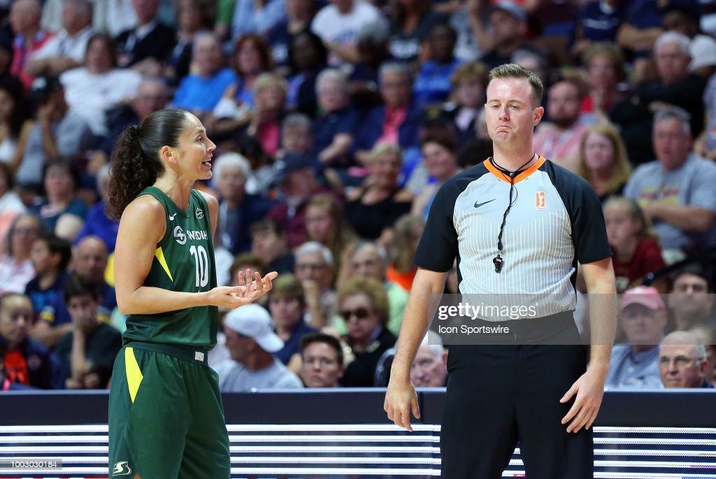 WNBA: JUL 20 Seattle Storm at Connecticut Sun : News Photo
