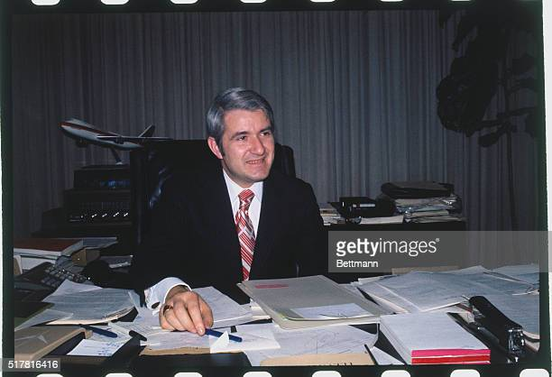Mayor Wesley Carl Uhlman Of Seattle Wa Is Shown Seated At A Desk News Photo Getty Images