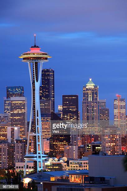 seattle, wa - seattle stock pictures, royalty-free photos & images