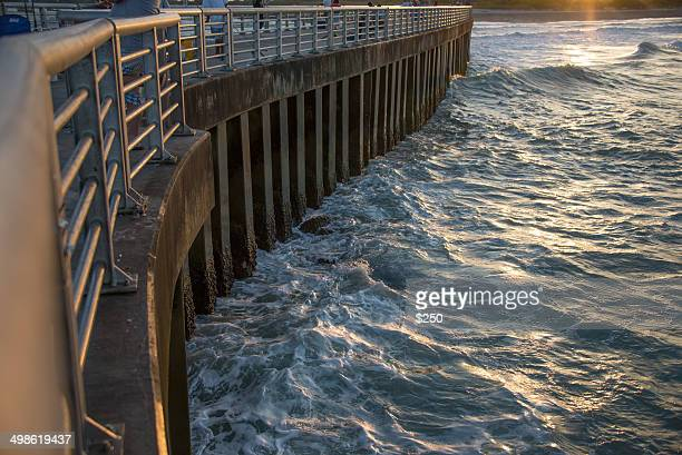 seawall in florida - seawall stock pictures, royalty-free photos & images