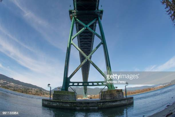 seawall stanley park - seawall stock pictures, royalty-free photos & images