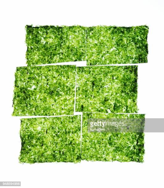 seaweed laver - seaweed stock pictures, royalty-free photos & images