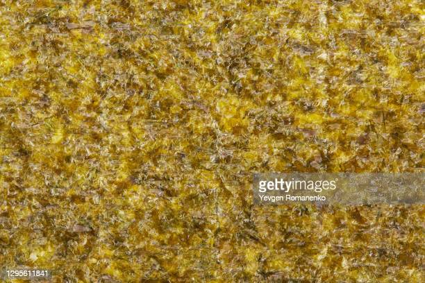 seaweed texture background - nori stock pictures, royalty-free photos & images