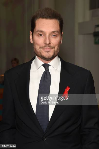 Seb Bishop attends the World Aids Day Charity Gala aimed at using football to educate and inspire vulnerable young people in developing countries at...