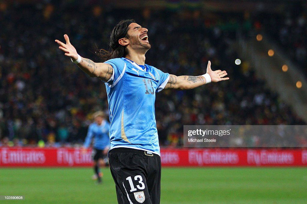 Uruguay v Ghana: 2010 FIFA World Cup - Quarter Finals : ニュース写真