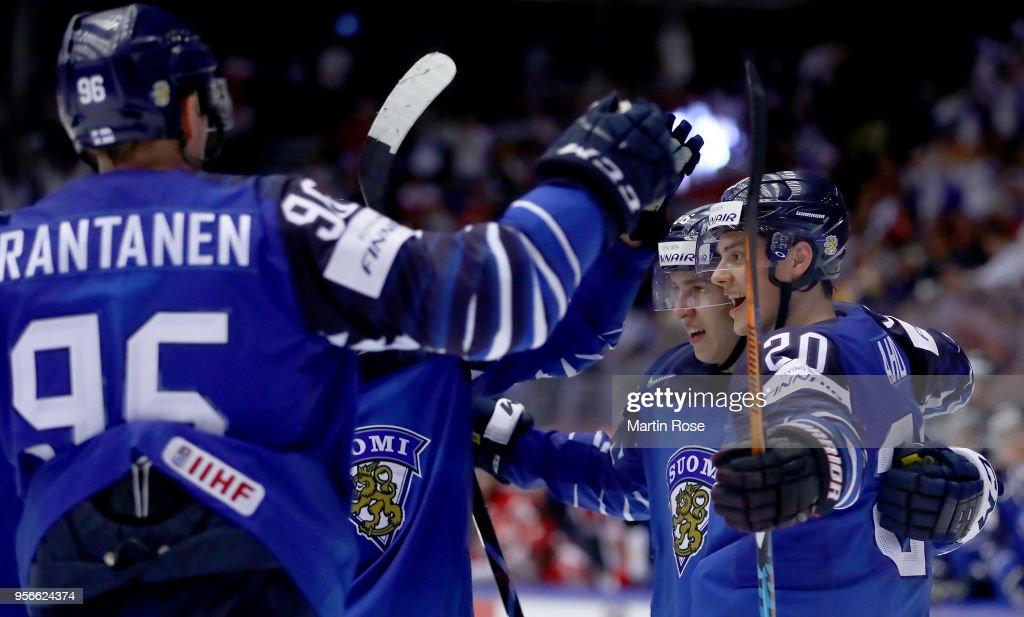 Finland v Denmark - 2018 IIHF Ice Hockey World Championship : News Photo