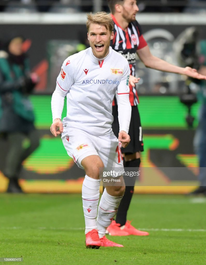 Eintracht Frankfurt v 1.FC Union Berlin - 1.Bundesliga : News Photo