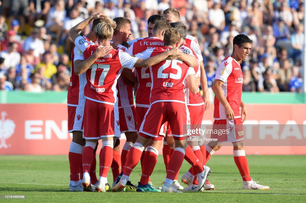 FC Carl Zeiss Jena v Union Berlin - DFB Cup