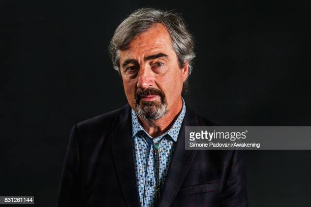 Sebastian Barry during the Edinburgh International Book Festival on August 14 2017 in Edinburgh Scotland