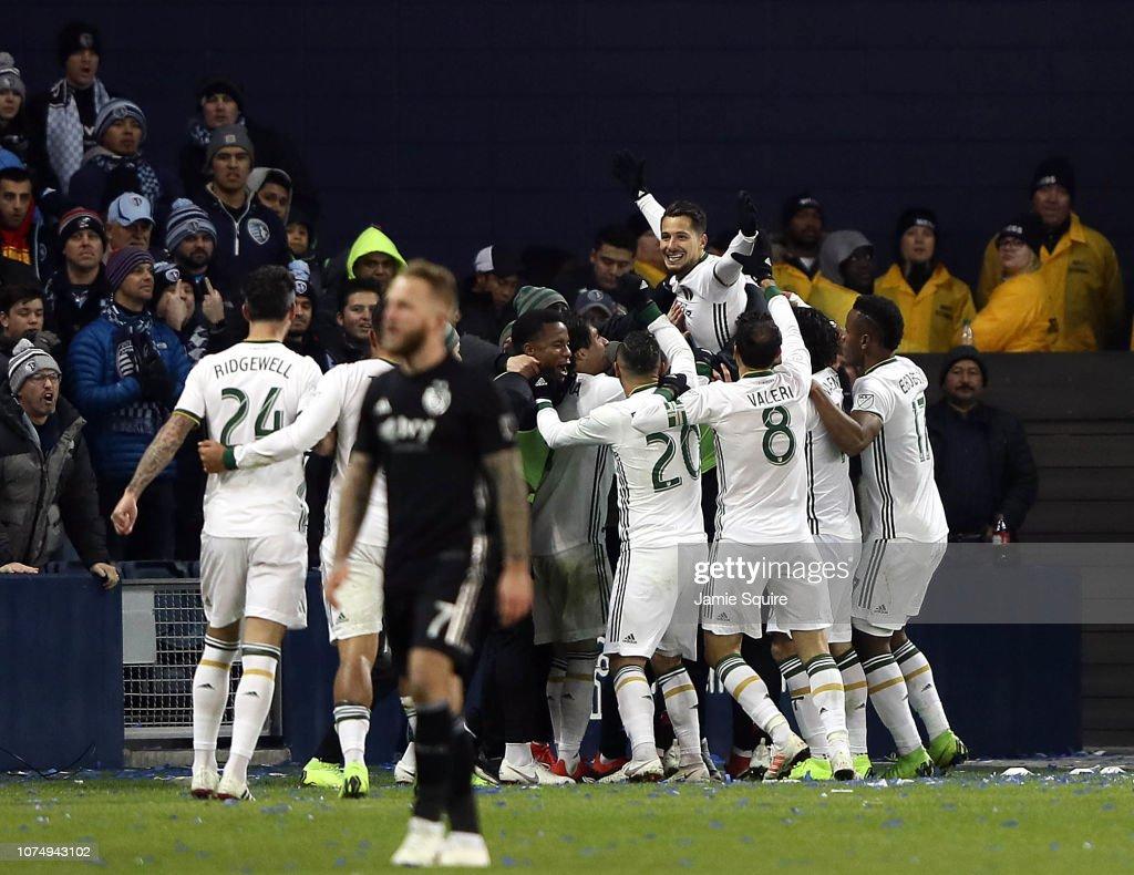 Portland Timbers v Sporting Kansas City: Western Conference Finals - Leg 2 : News Photo