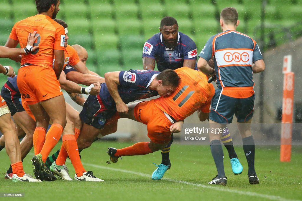Super Rugby Rd 9 - Rebels v Jaguares : News Photo