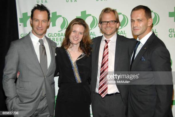 Sebastian Copeland, Justine Musk, Matt Petersen and Mikhail La Pushner attend GLOBAL GREEN USA presents the 10th ANNUAL SUSTAINABLE DESIGN AWARDS at...
