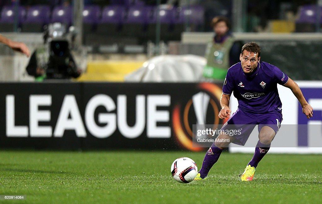 ACF Fiorentina v FC Slovan Liberec - UEFA Europa League : ニュース写真