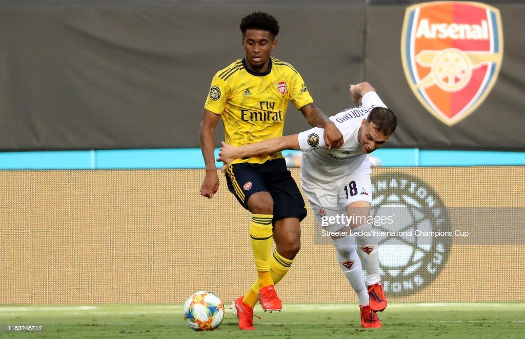 Arsenal v ACF Fiorentina - 2019 International Champions Cup : ニュース写真