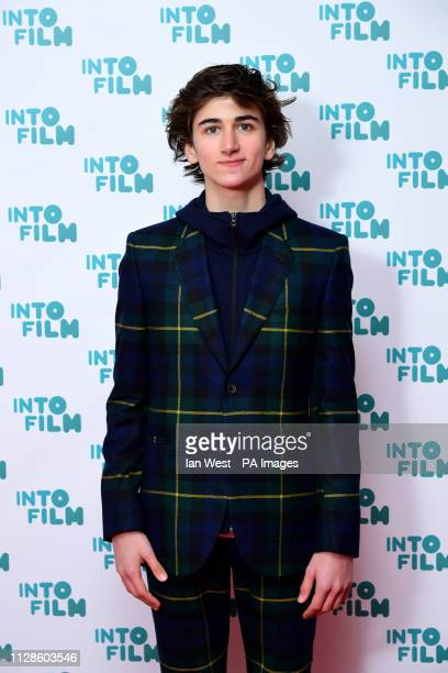 Sebastian Croft attending the fifth annual Into Film Awards held at the Odeon Luxe in Leicester Square London