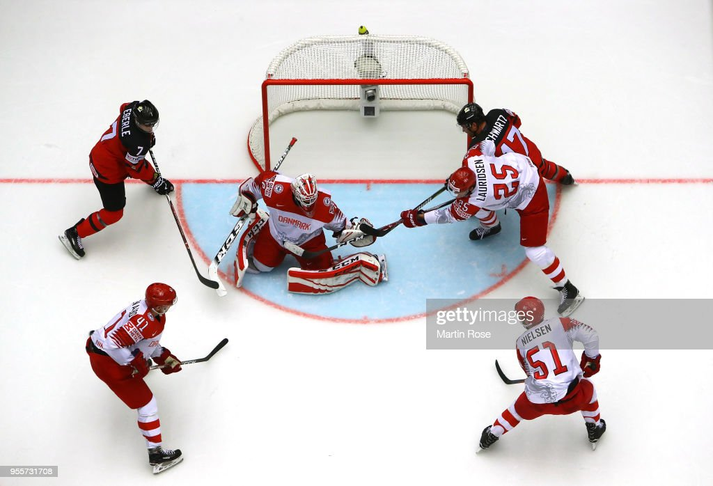 Canada v Denmark - 2018 IIHF Ice Hockey World Championship : News Photo