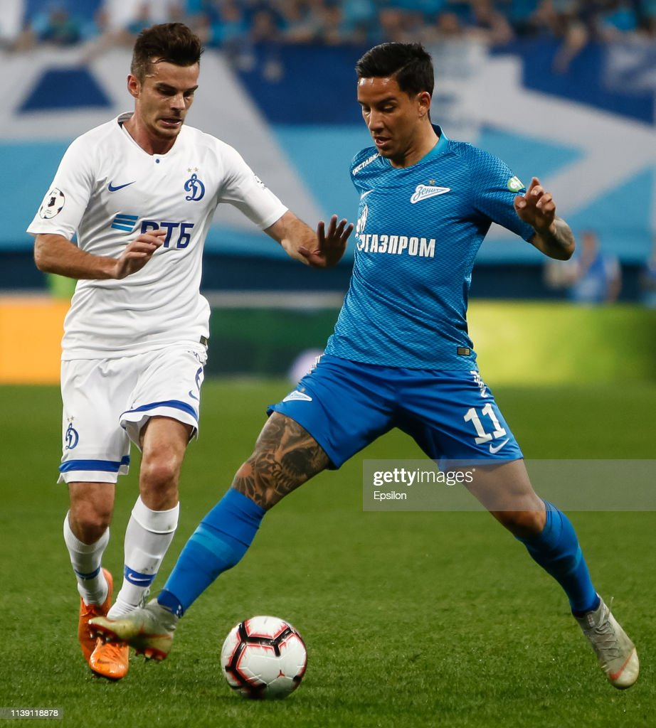 RUS: FC Zenit Saint Petersburg vs FC Dinamo Moscow - Russian Premier League