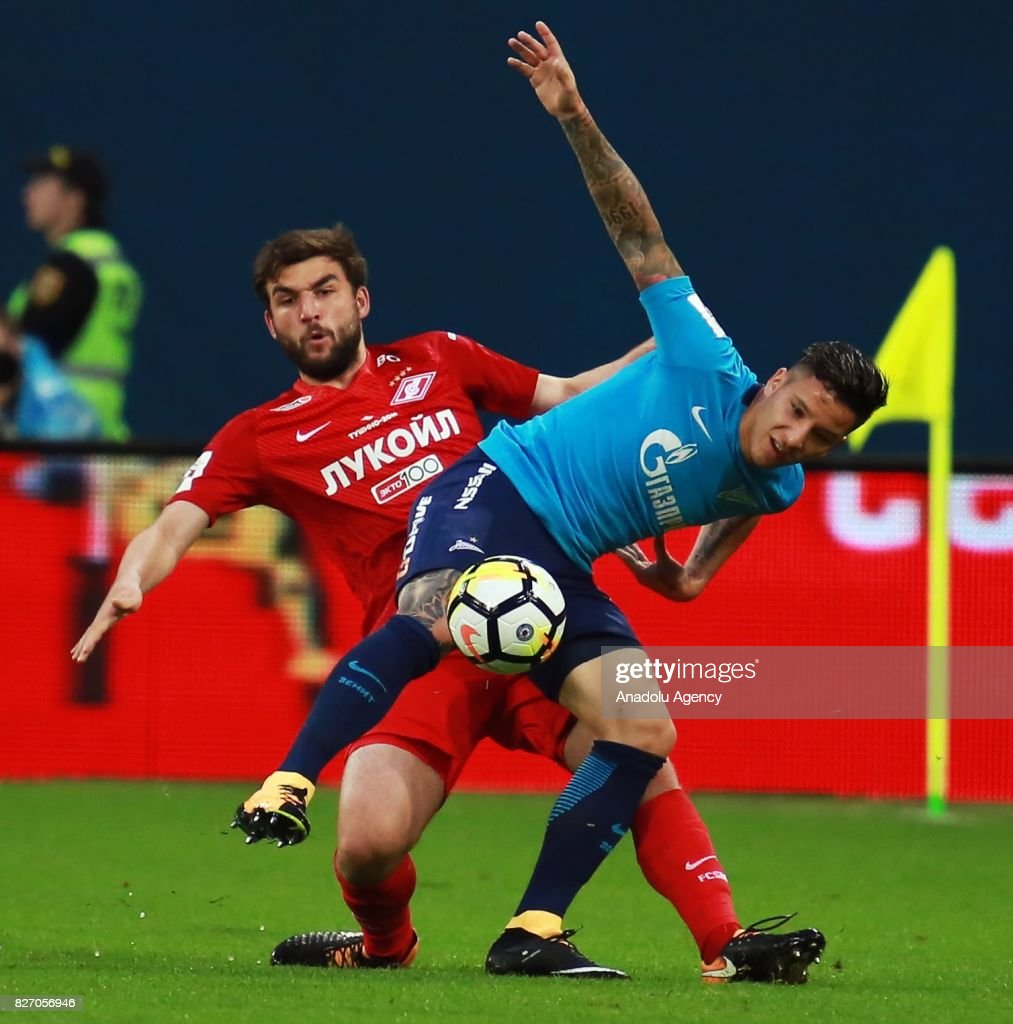 Zenit St. Petersburg vs FC Spartak Moscow : News Photo