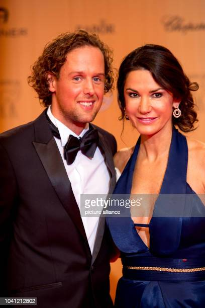 Sebastian Esser and Mariella Ahrens attend the Bambi Awards 2015 at Stage Theatre in Berlin Germany on 12 November 2015 Photo Hubert Boesl/dpa...