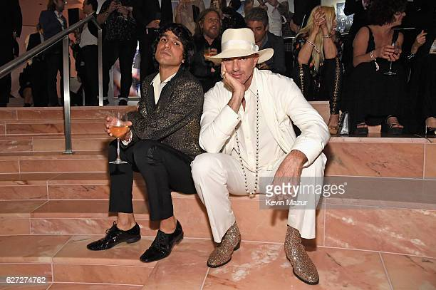 Sebastian Faena and Alan Faena attend An Evening of Music Art Mischief and Performance to benefit Raising Malawi presented by Madonna at Faena Forum...