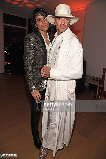 Sebastian Faena and Alan Faena attend as Bulgari supports Madonna's evening of music art mischief and performance to benefit Raising Malawi with an...