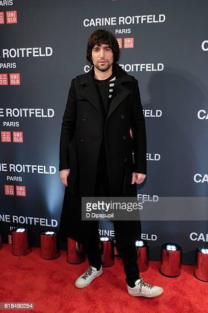 Sebastian Faena attends the UNIQLO Fall/Winter 2016 Carine Roitfeld Collection Launch at UNIQLO on October 26 2016 in New York City