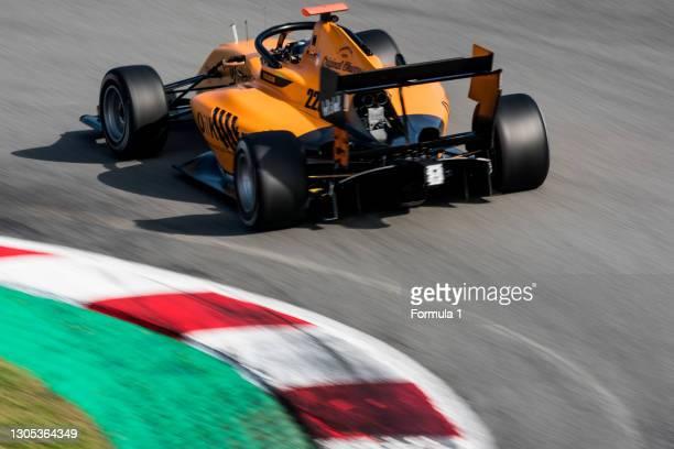 Sebastian Fernandez Campos Racing during the Barcelona April testing at Circuit de Barcelona-Catalunya on April 10, 2019 in Circuit de...