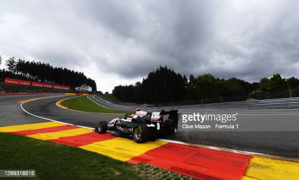 Sebastian Fernandez of Spain and ART Grand Prix drives during qualifying for the Formula 3 Championship at Circuit de Spa-Francorchamps on August 28,...