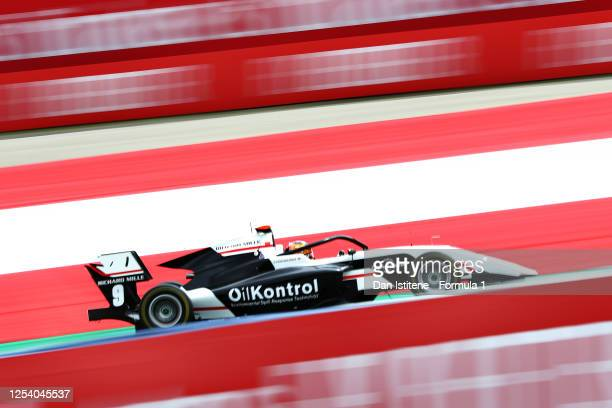 Sebastian Fernandez of Spain and ART Grand Prix drives on track during qualifying for the Formula 3 Championship at Red Bull Ring on July 03, 2020 in...