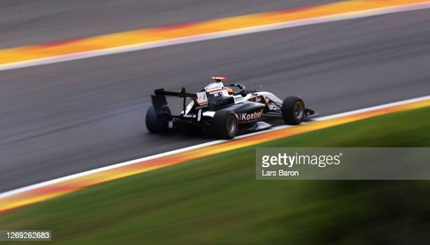 Sebastian Fernandez of Spain and ART Grand Prix drives on track during practice for the Formula 3 Championship at Circuit de Spa-Francorchamps on...