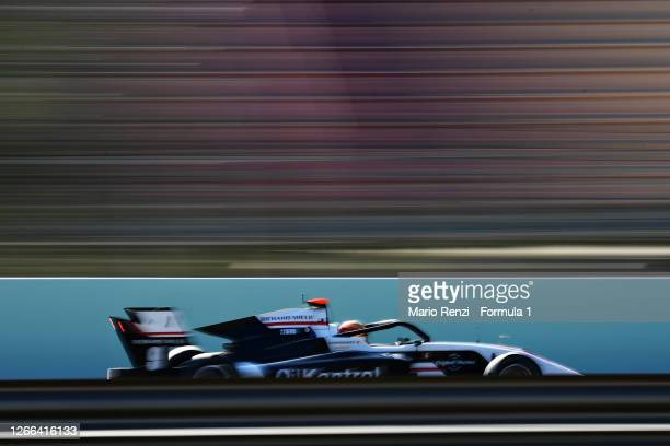 Sebastian Fernandez of Spain and ART Grand Prix drives on track during race one of the Formula 3 Championship at Circuit de Barcelona-Catalunya on...